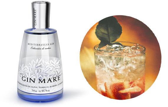cocktail Gin Mare Kosta Dourada