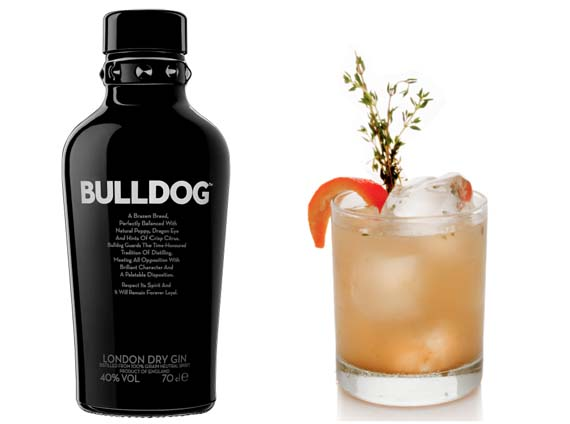 Homenaje a Sir Winston Churchill Bulldog Gin