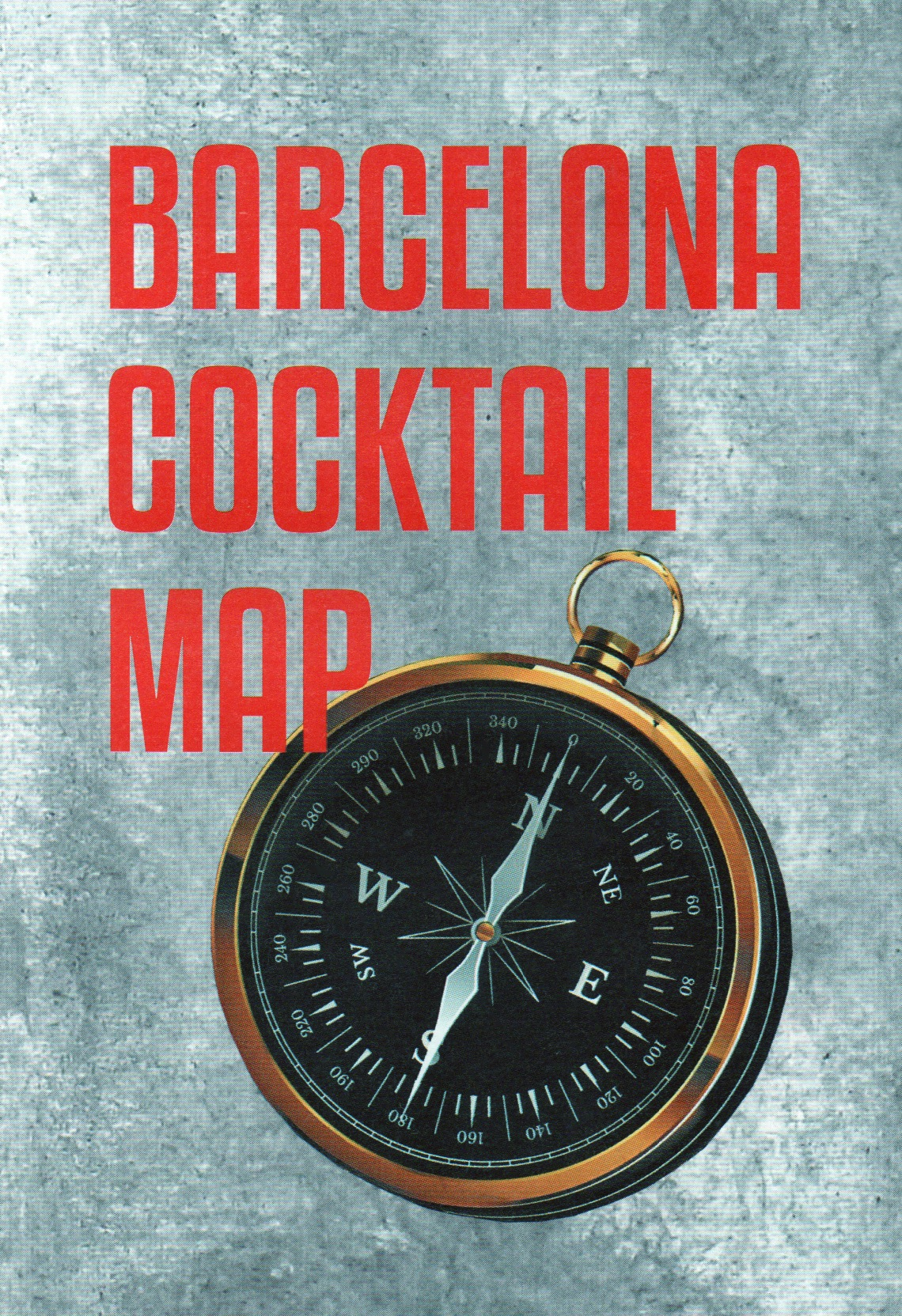 barcelona cocktail map
